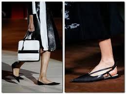 Обувь.Остроносые балетки 2014.