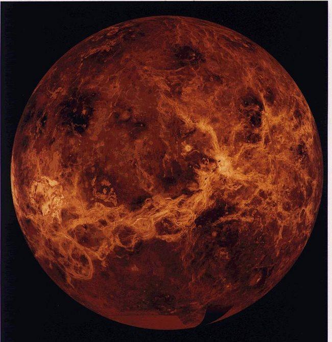 Планета МЕРКУРИЙ. Вращается вокруг Солнца.