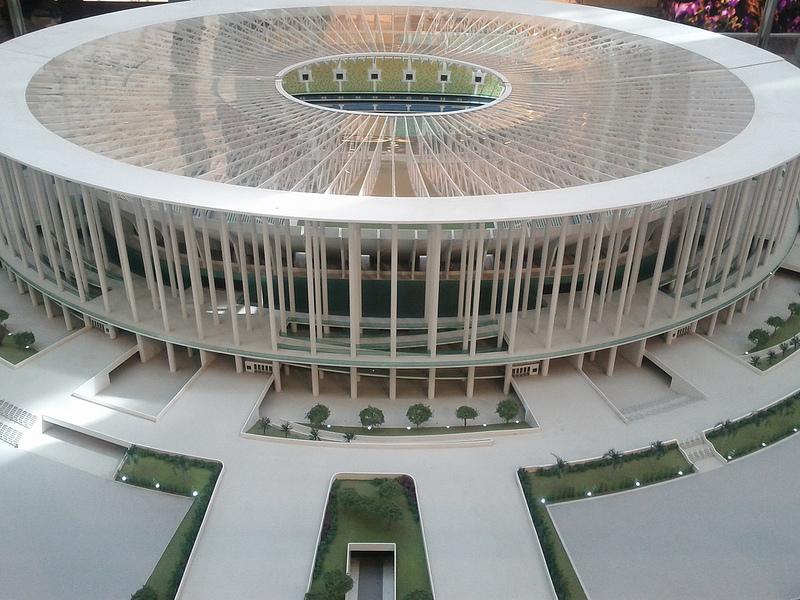 Бразилиа. Национальный стадион.