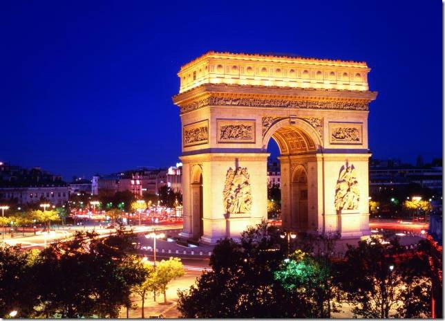 Франция. Триумфальная арка