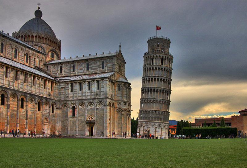 566 Италия. Пизанская Башня