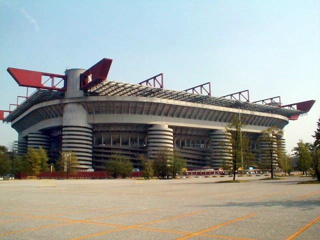 576 Италия. Стадион Джузеппе Меацца