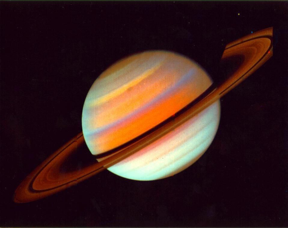 Планета имеющая зрелищную систему колец — САТУРН.