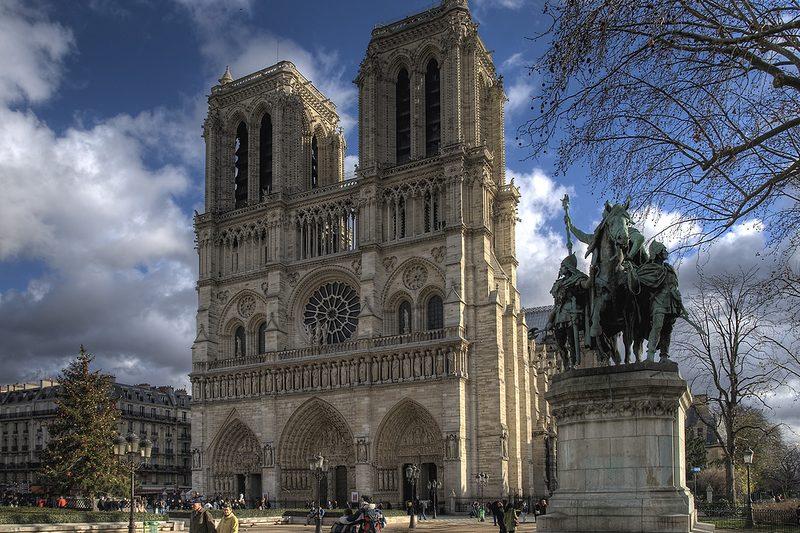 597 Франция. Собор Парижской Богоматери