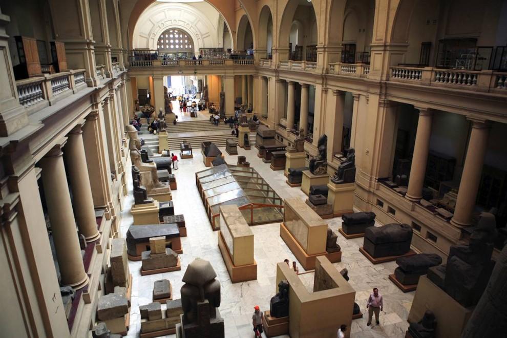 929 Египет. Каирский египетский музей.