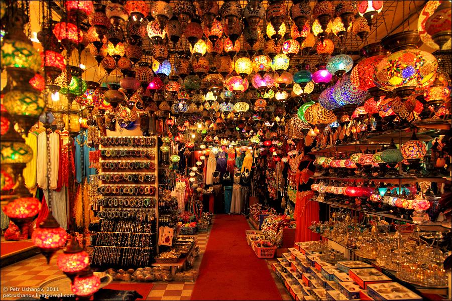 864 Турция.Большой базар.