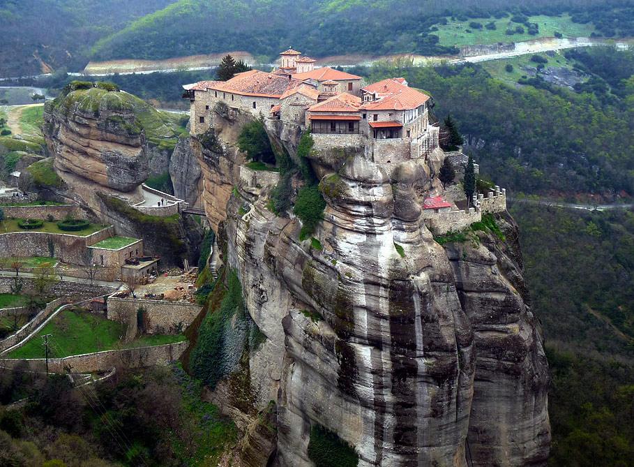 672 Греция. Монастыри Метеоры