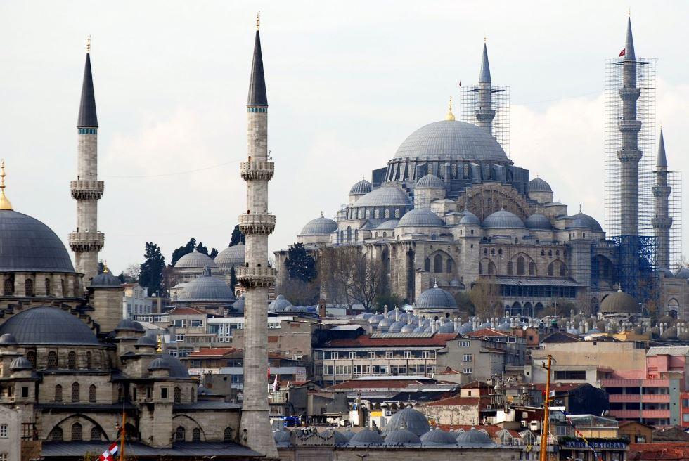 848 Турция. Сулеймание