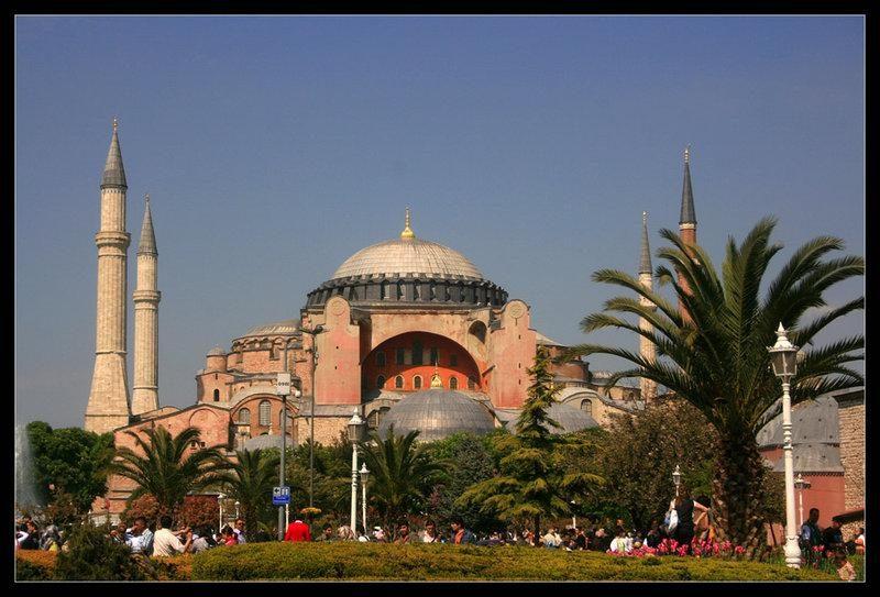 Греция. Храм Святой Софии