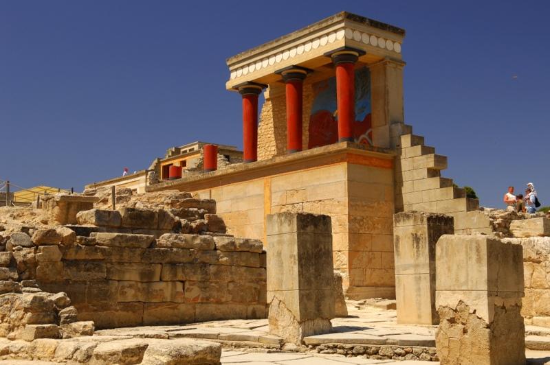 678 Греция. Кносский дворец