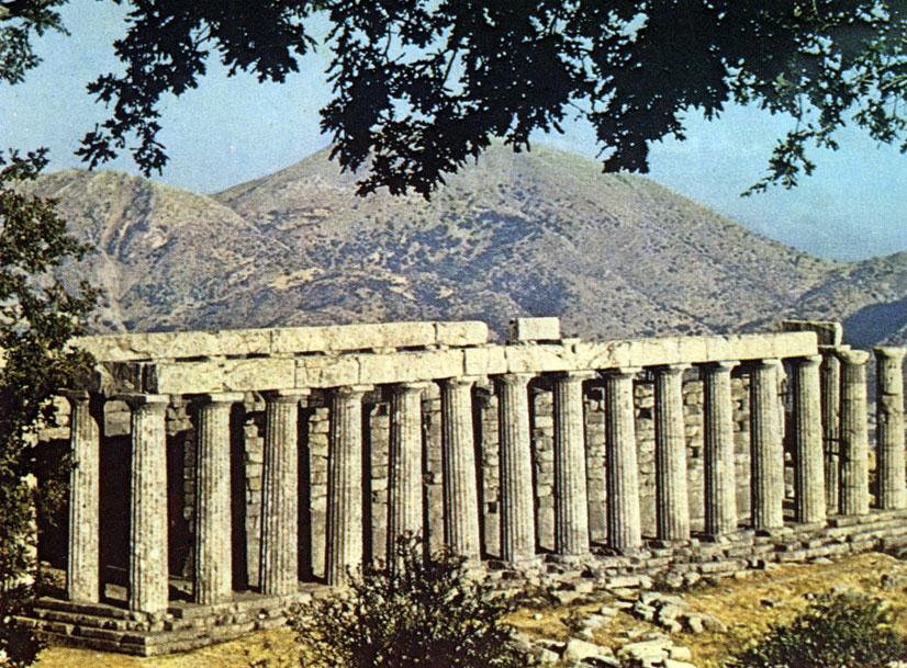 Греция. Храм Аполлона