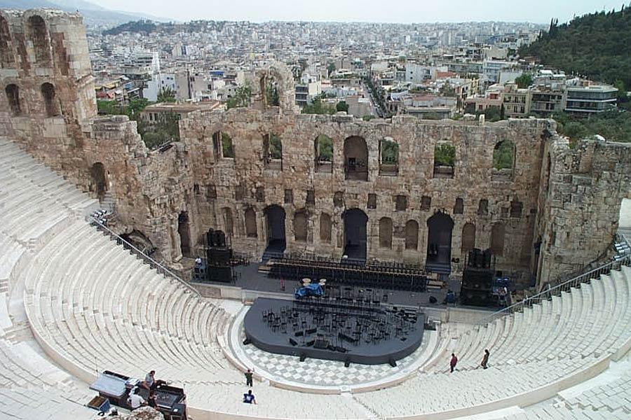 Греция. Театр Диониса