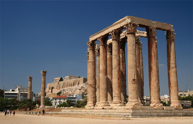 688 Греция. Храм Зевса в Олимпии