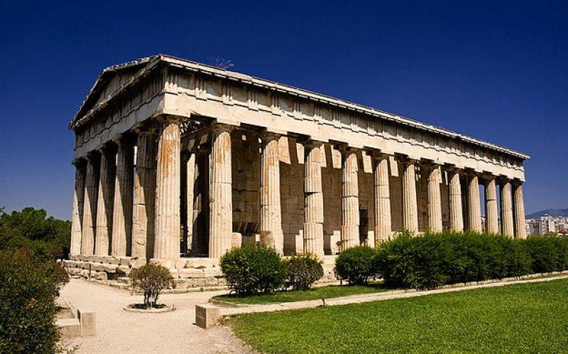 674 Греция. Храм Гефеста