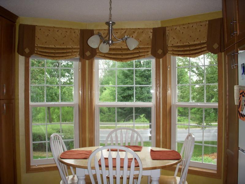 Оформление окна в частном доме фото