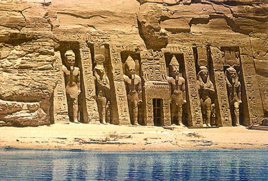 Египет. Долина Цариц.