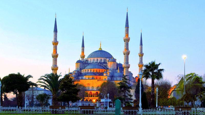 Турция. Голубая мечеть