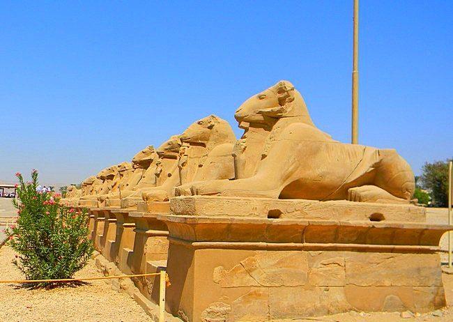 Египет. Карнакский храм.