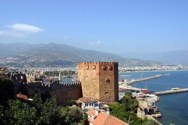 Турция. Крепость Аланьи.