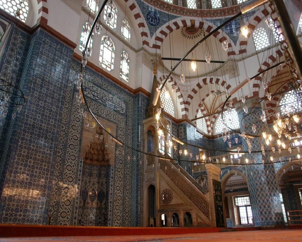 877 Турция. Мечеть Рустема-паши.