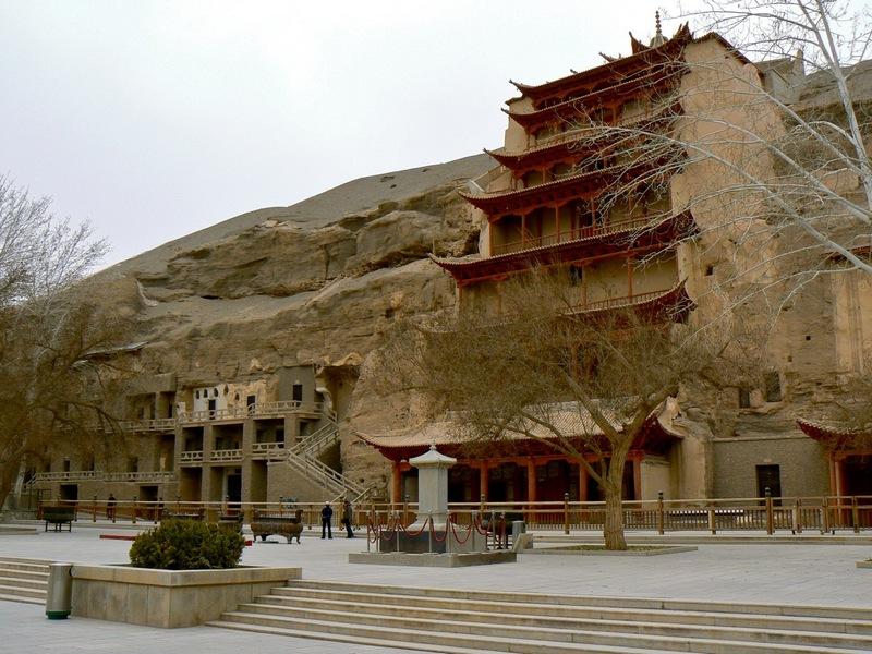 Китай. Пещеры Могао.