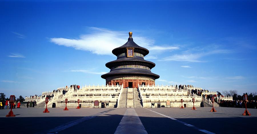 Китай. Храм Неба.