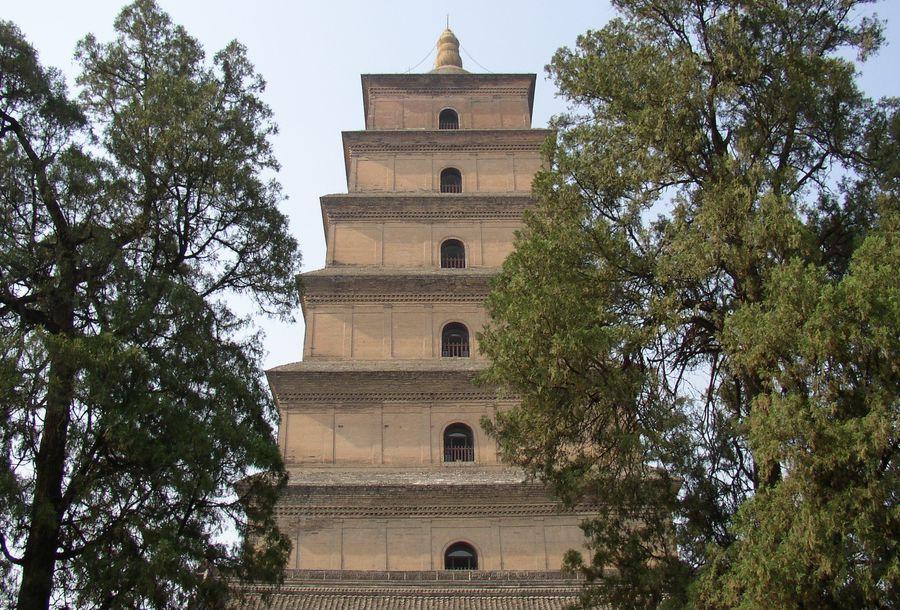 Китай. Большая пагода диких гусей.