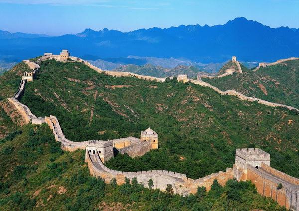 787 Китай. Великая Китайская стена.