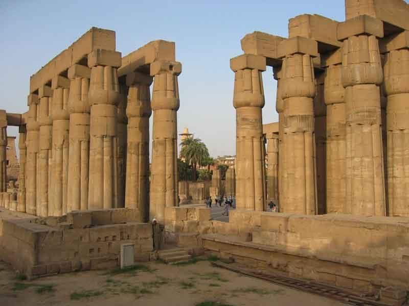 927 Египет. Луксорский храм