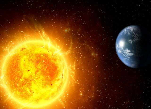 Планета Солнце. Великая звезда галактики.