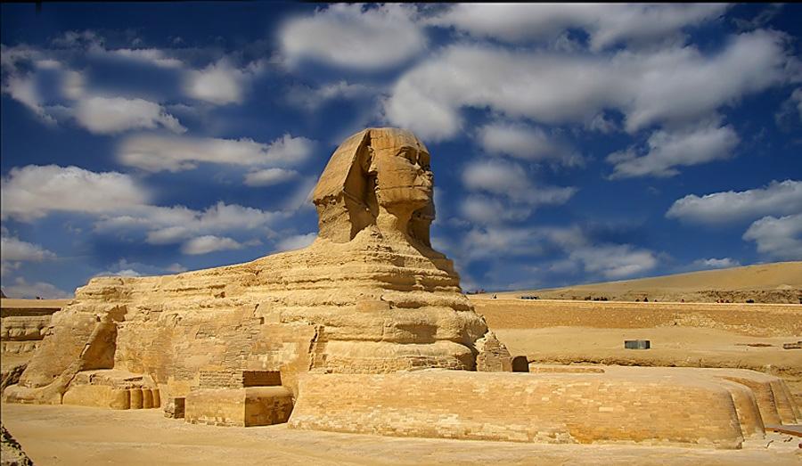 923 Египет. Большой Сфинкс