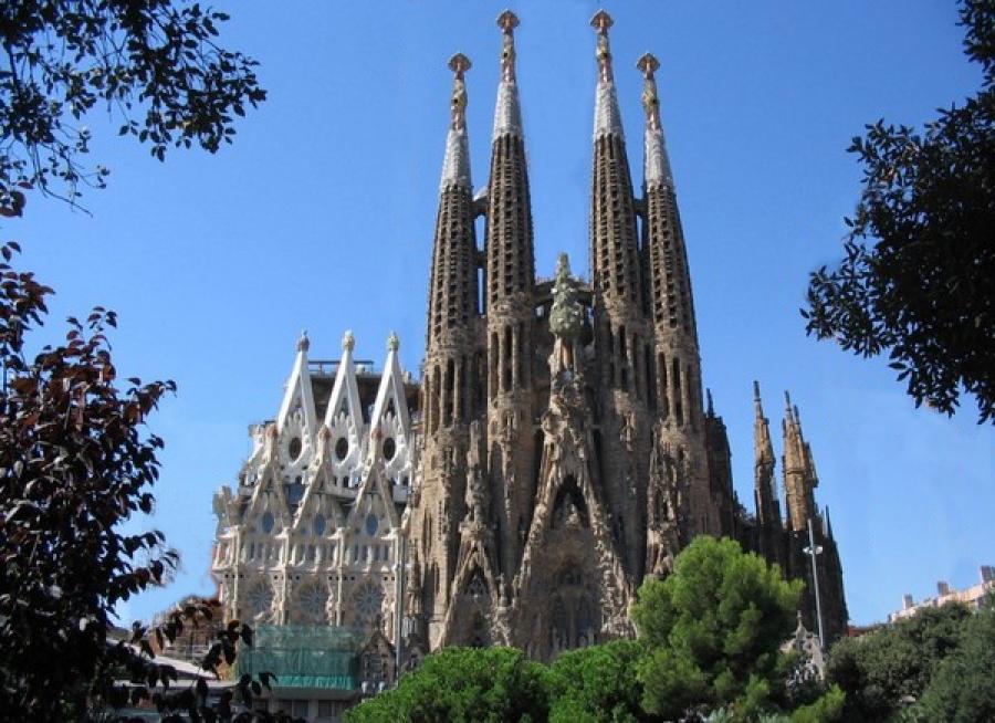 Испания. Храм Святого Семейства