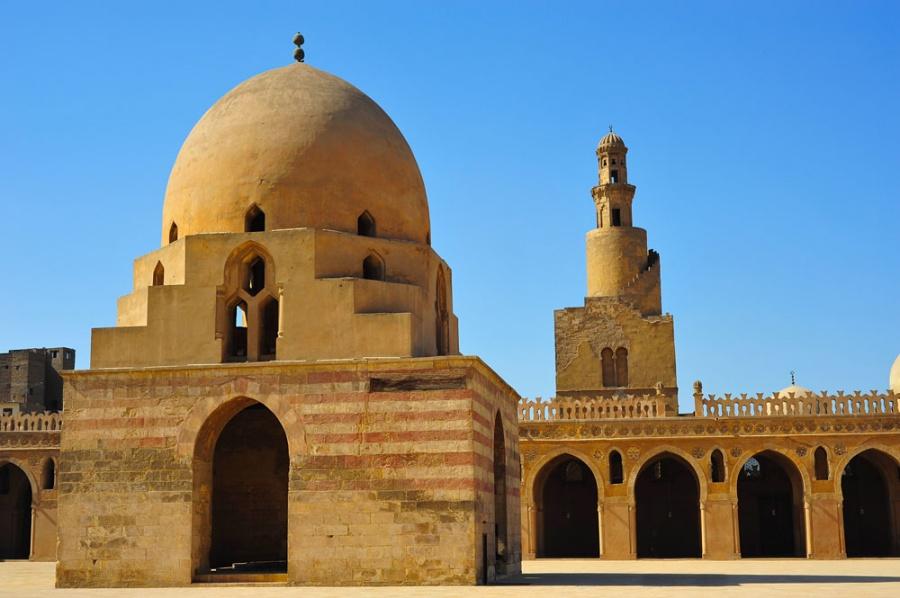 961 Египет. Мечеть Ибн Тулуна.
