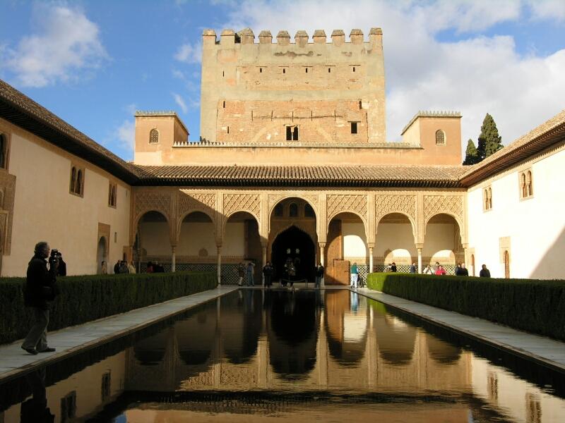 1016 Испания. Альгамбра