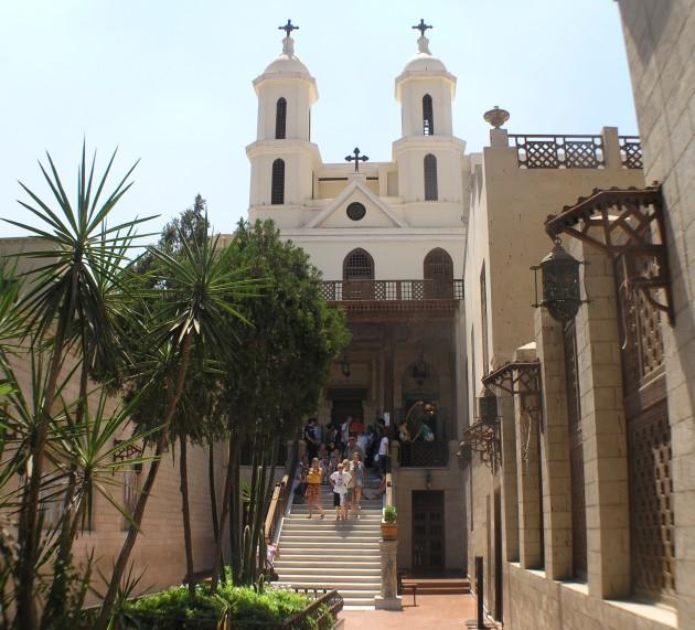 985 Египет. Церковь Святой Марии.