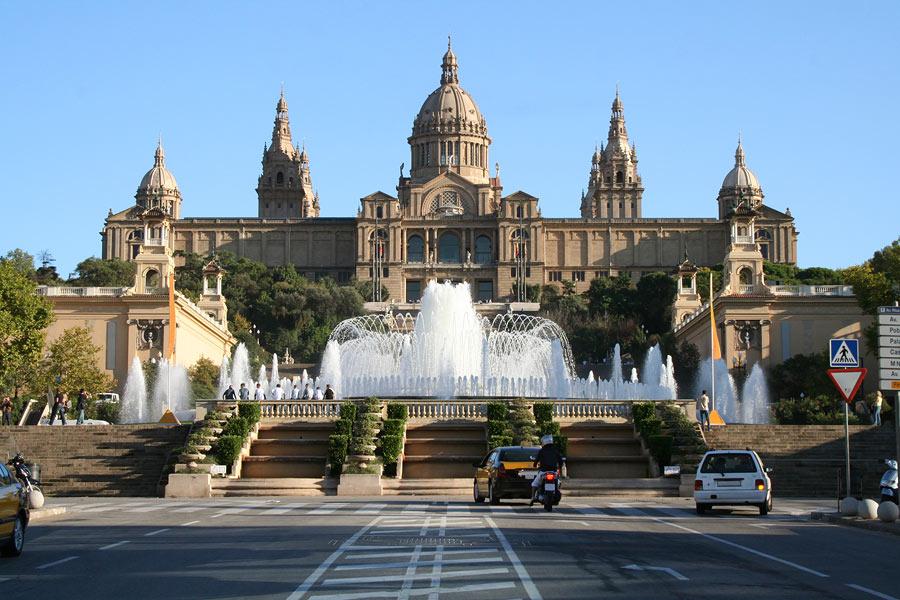 1026 Испания. Национальный музей искусства Каталонии.