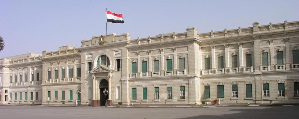 981 Египет. Дворец Абдин.