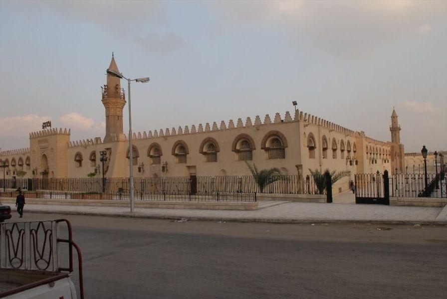 987 Египет. Мечеть Амра.