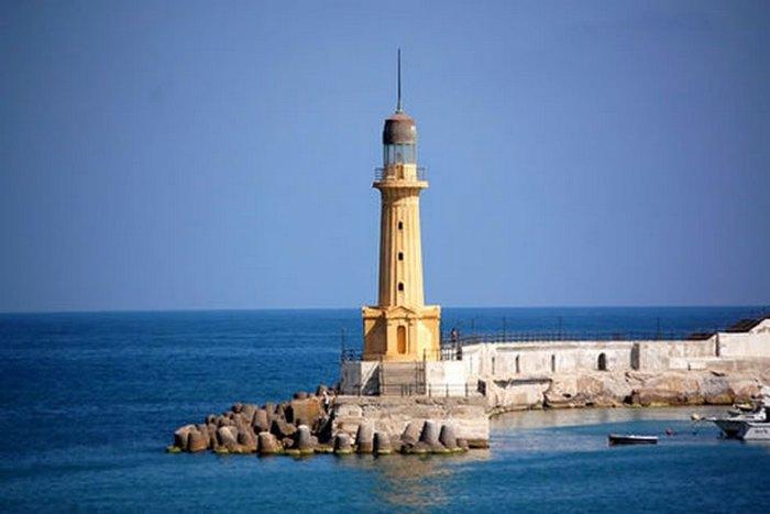 978 Египет. Александрийский маяк.