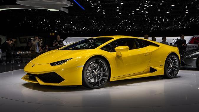 Женевское автошоу. 2015 Jaguar XFR-S Sportbrake, 2015 Lamborghini Huracán LP 610-4.