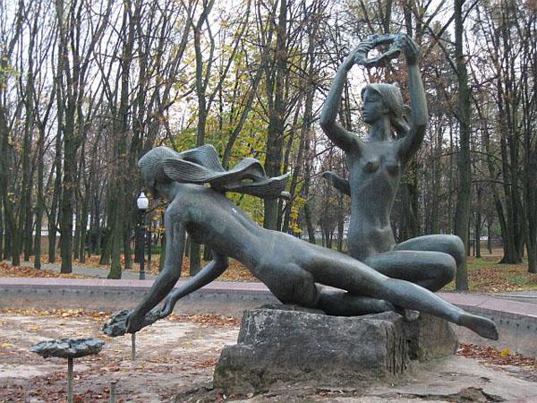 Белоруссия. Парк Янки Купалы.