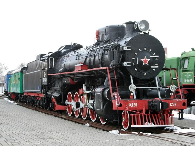 Белоруссия. Брестский железнодорожный музей