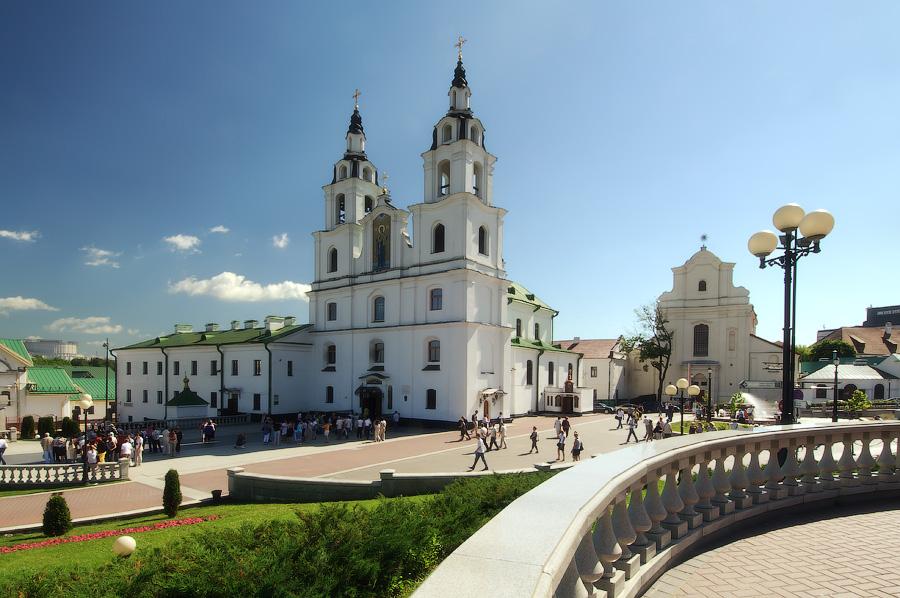 Белоруссия. Собор Девы Марии