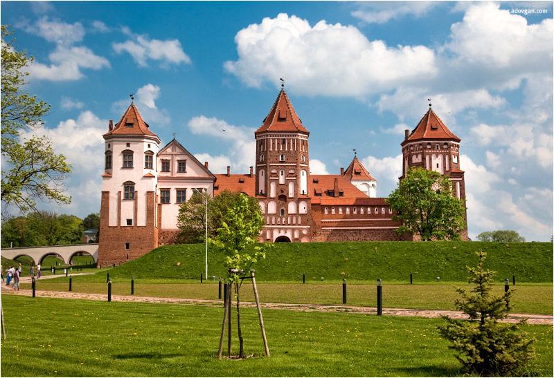 Белоруссия. Мирский замок.