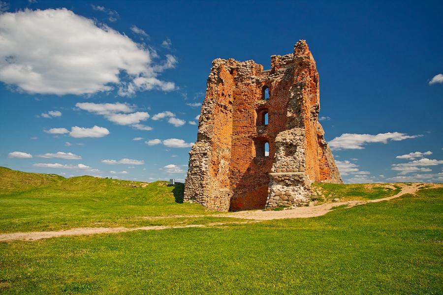 Белоруссия. Новогрудский замок.