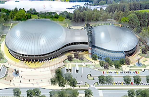Белоруссия. Чижовка-Арена.