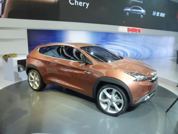 Новые автомобили Chery 2014 года.