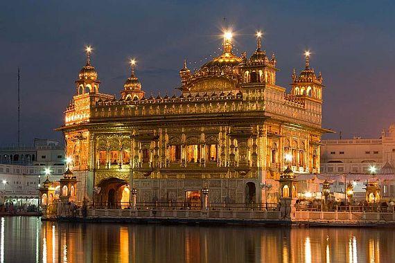 Индия. Хармандир-Сахиб.