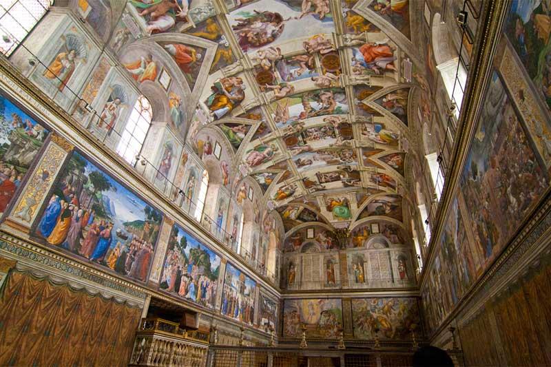 Ватикан. Сикстинская капелла.