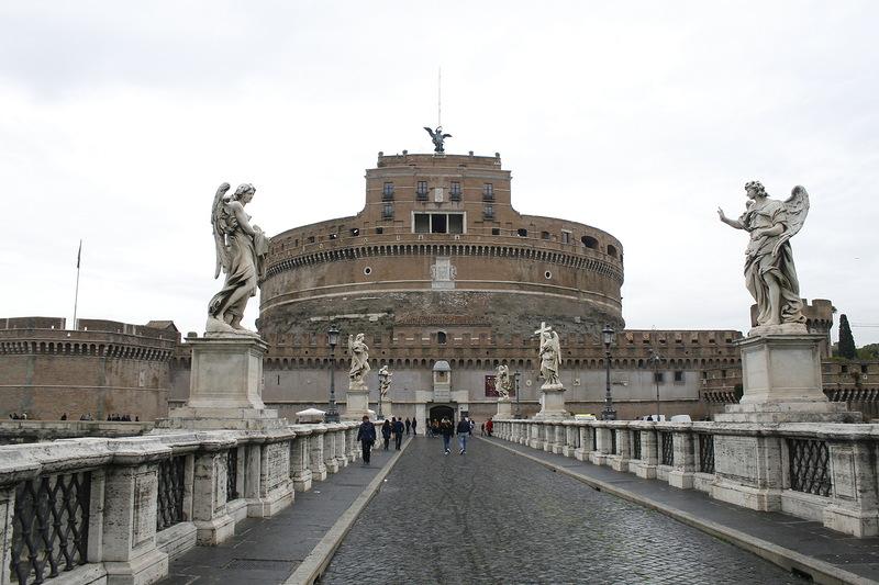 Ватикан. Замок Святого Ангела.